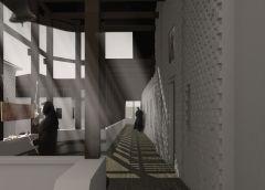 Foișorul mănăstirii, spațiu exterior premergător al Paraclisului